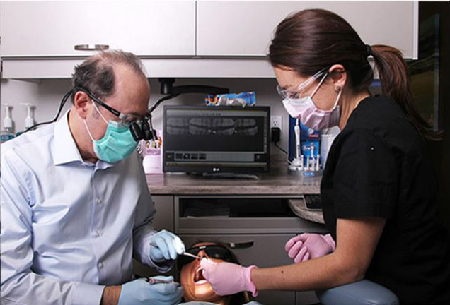 Dr. Hahn at High Park Dental Care in High Park